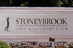 Stoneybrook community sign