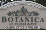 Botanica community sign